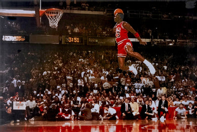 Chicago Bulls Michael Jordan - Dunk