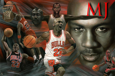 Chicago Bulls - Michael Jordan Montage ( COMING SOON! )