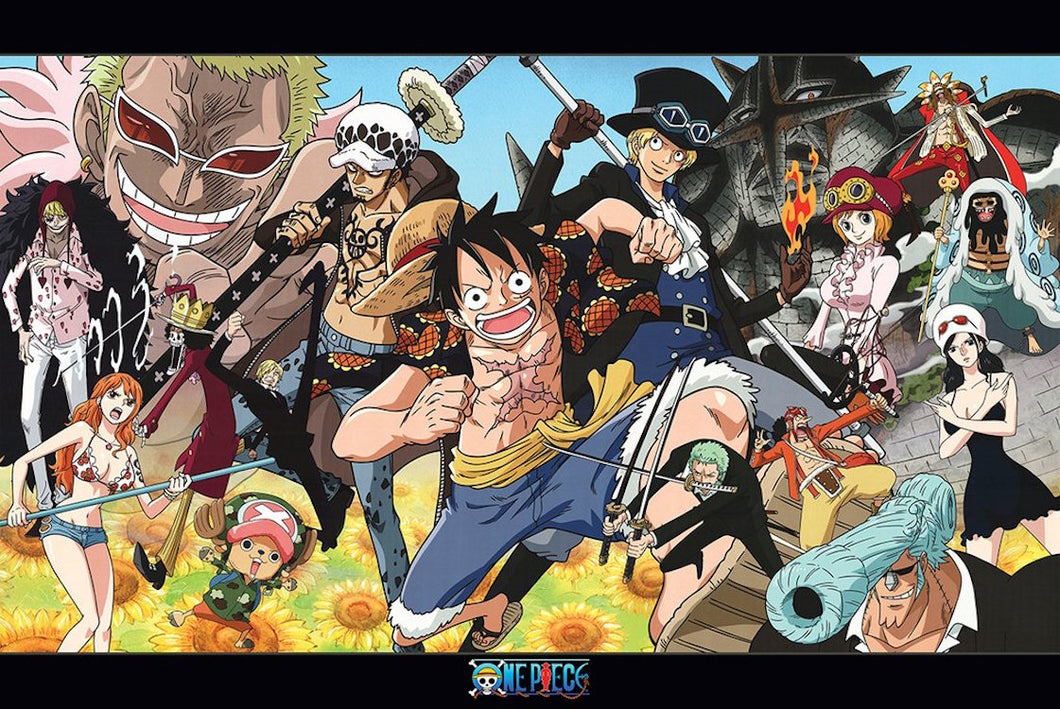 One Piece - Characters (Landscape)