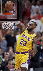 LA Lakers Lebron James - Dunk