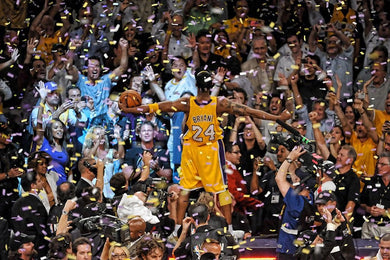LA Lakers Kobe Bryant - Celebration