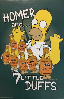 The Simpsons - Homer & The 7 Little Duffs