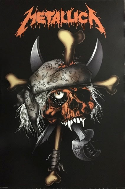 Metallica - Pirate Skull