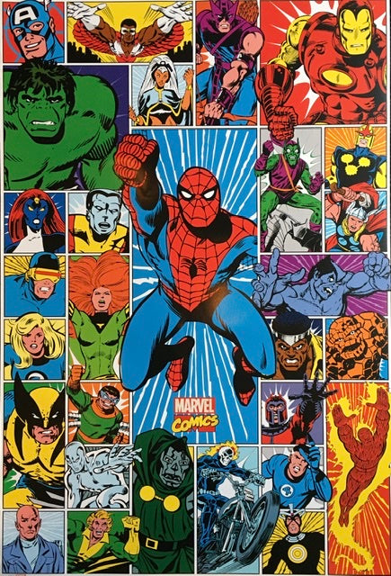 Spiderman - Marvel Collage