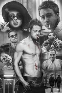 Fight Club - Black and White