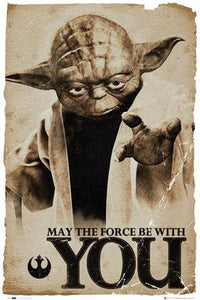 Star Wars Yoda - May The Force Be With You
