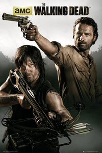 Walking Dead - Rick and Daryl