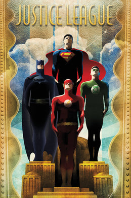 Justice League - Team Art Decor
