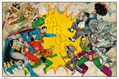 DC Comics - Heroes vs Villains