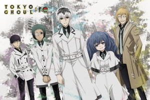 Tokyo Ghoul: Re - Characters (Landscape)