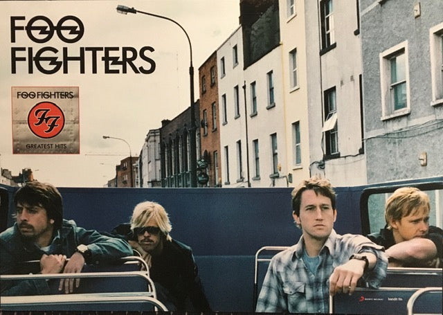 Foo Fighters Greatest Hits - Bus