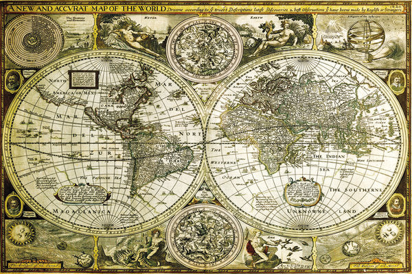 Historical World Map