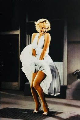 Marilyn Monroe - Grate ( Colour )