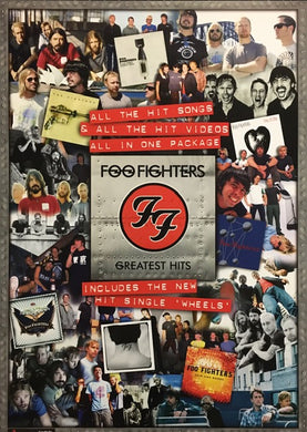 Foo Fighters Greatest Hits - Collage
