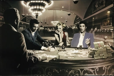 Chris Consani - Royal Flush  - Marilyn Monroe, Elvis Presley, James Dean, Humphrey Bogart