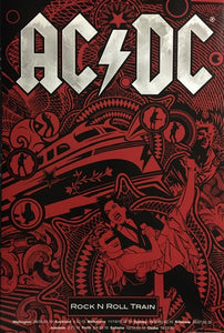 AC/DC - Black Ice Tour 2010 - Rock 'N' Roll Train  ( SALE - 50% OFF! )