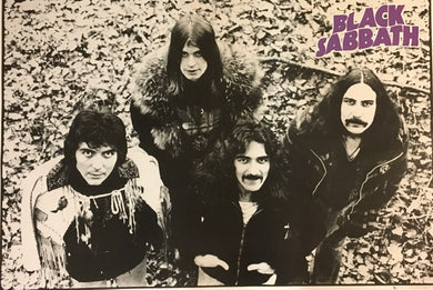 Black Sabbath - Group B/W
