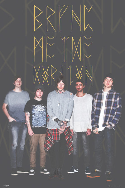 Bring Me The Horizon - Group Black