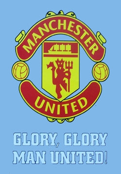 Manchester United Crest ( Blue )