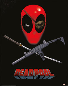Deadpool - Crossed Guns