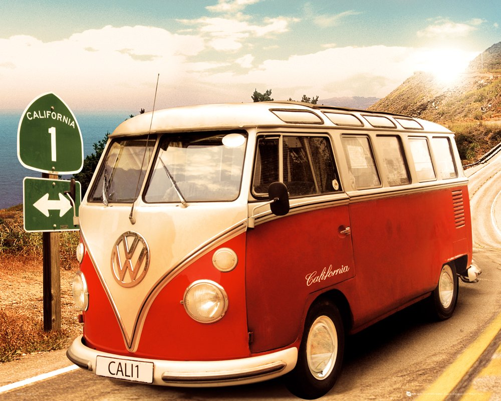 VW Camper - Route 1