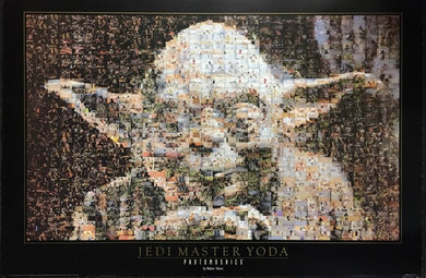Star Wars Yoda - Photomosaic by Robert Silvers