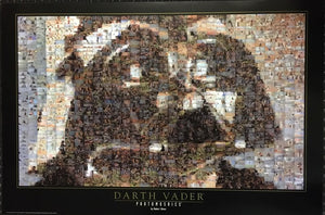 Star Wars Darth Vader - Photomosaic by Robert Silvers