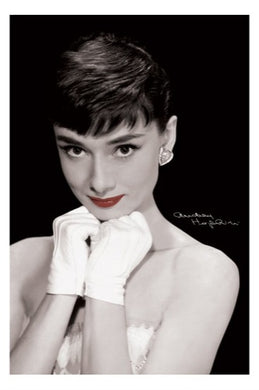 Audrey Hepburn - Red Lips