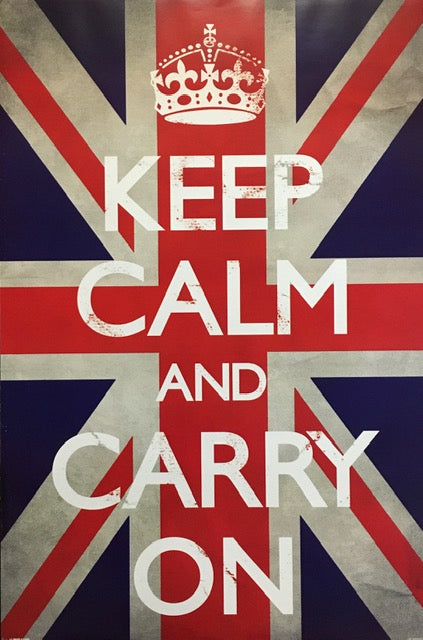 Keep Calm And Carry On - UK