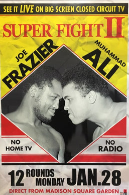 Muhammad Ali - Frazier vs Ali Super Fight II
