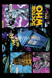 Dr Who - Comic Layout