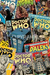 Dr Who - Comic Montage
