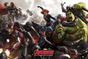 Avengers Age of Ultron - Battle