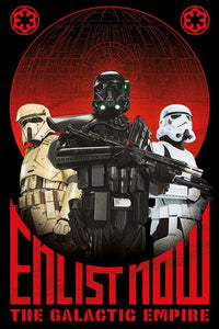 Star Wars Rogue One - Enlist Now
