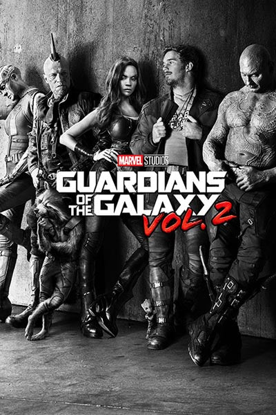 Guardians of the Galaxy Vol 2 - Black and White