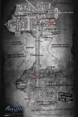 Batman Origins - Map