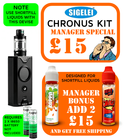 Sigelei Chronus Vape Kit