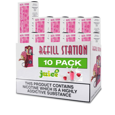Raspberry Smoothie 10 Pack