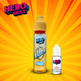 Hero Sauce KABOOM Vanilla Ice with Free Nicotine Shot