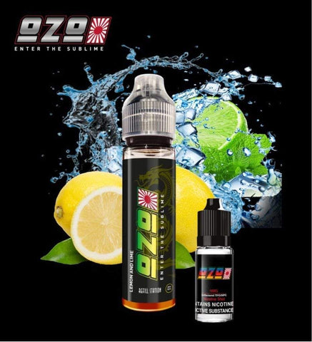 OZO Lemon & Lime with Free Nicotine Shot