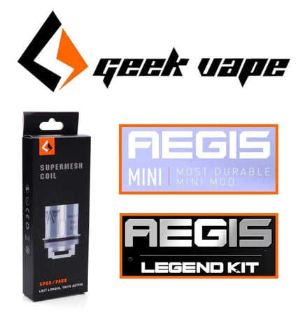 Geek Vape Supermesh Coils