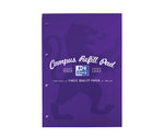 Oxford Campus Purple Refill Pad, 140 pages