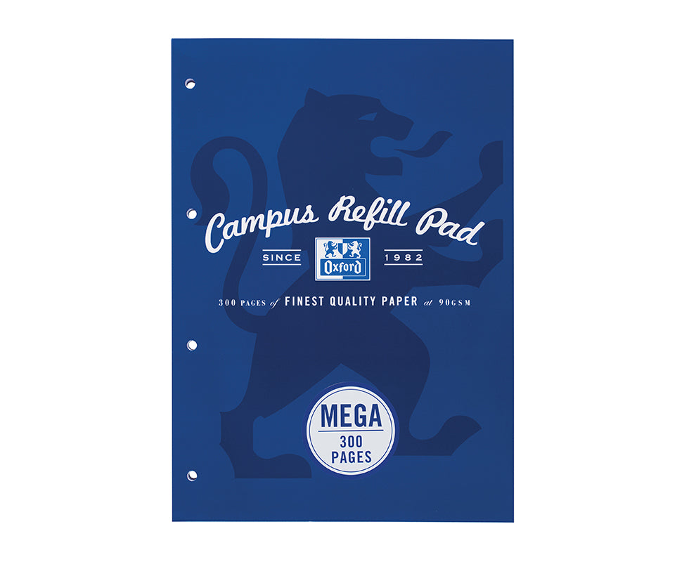 Oxford Campus Navy Refill Pad, 300 pages