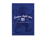 Oxford Campus Navy Refill Pad, 140 pages