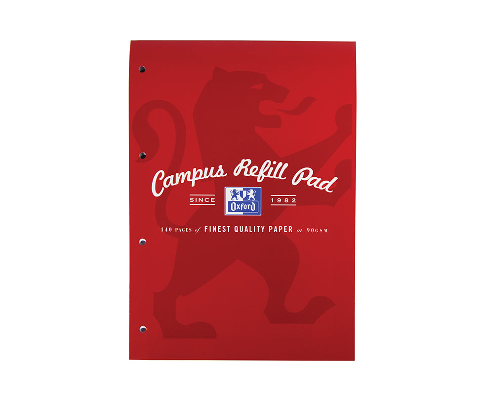 Oxford Campus Red Refill Pad, 140 pages