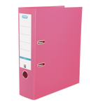 Elba Smart Pro+ A4 70mm spine PP lever arch file pink
