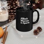 Load image into Gallery viewer, Black In Sports Mug - Black 11oz