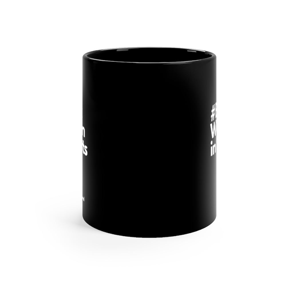 Black In Sports Mug - Black 11oz