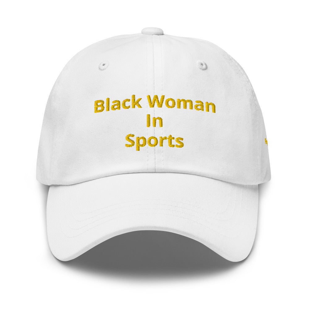 Black in Sports Dad Hat