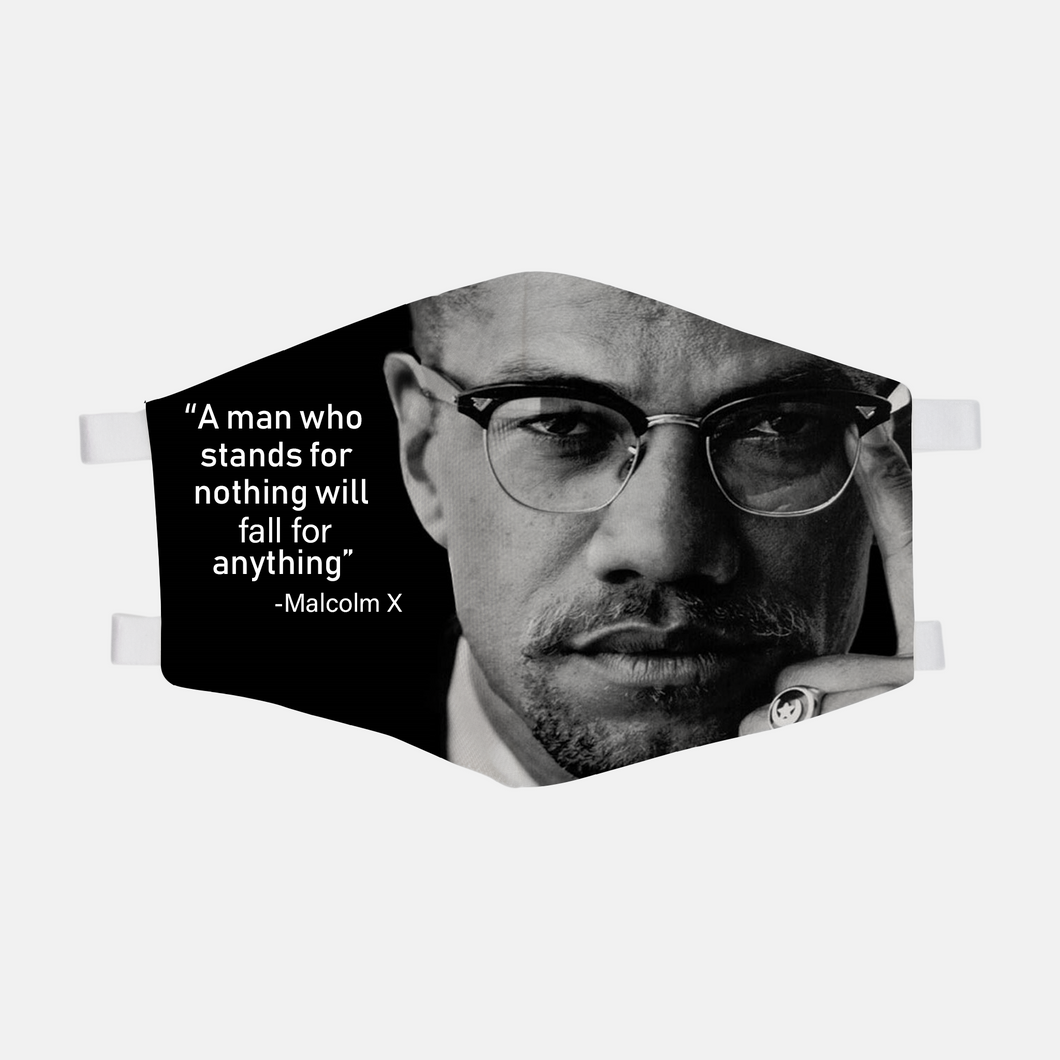 Malcolm X Face Mask